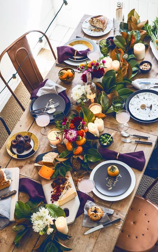 Room for Style: Decorating | Fall Tablescapes