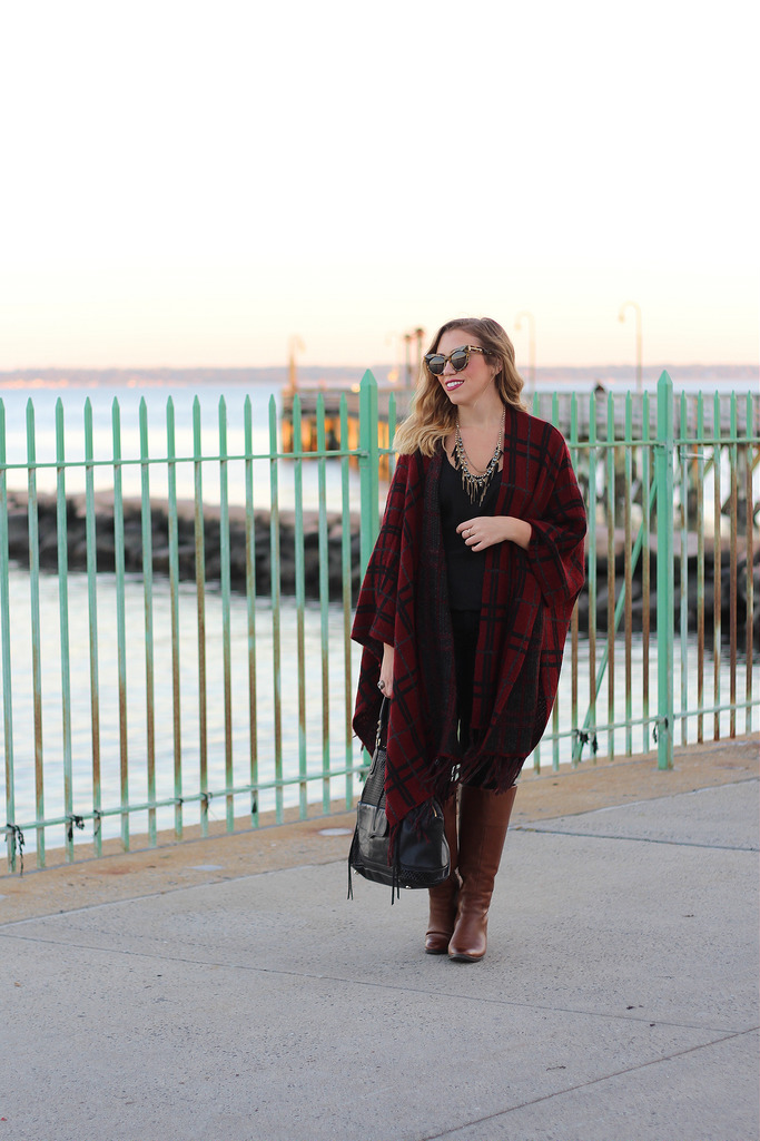 Room for Style: Fashion | Fall Sunsets in Plaid