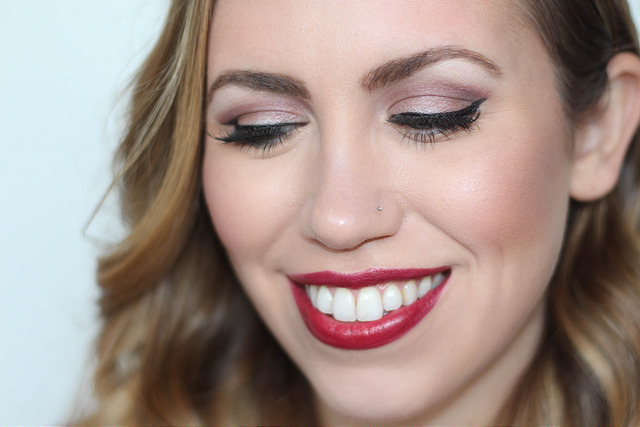 Makeup Monday: Berry Lipstick & Berry Eyeshadow