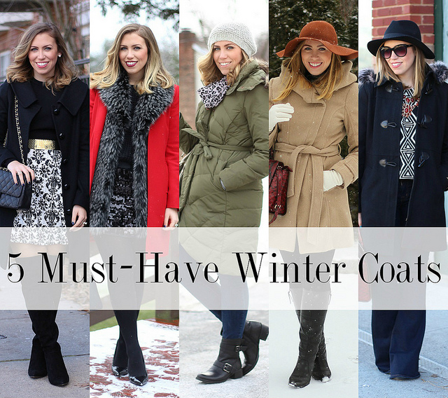 5 Must-Have Winter Coats