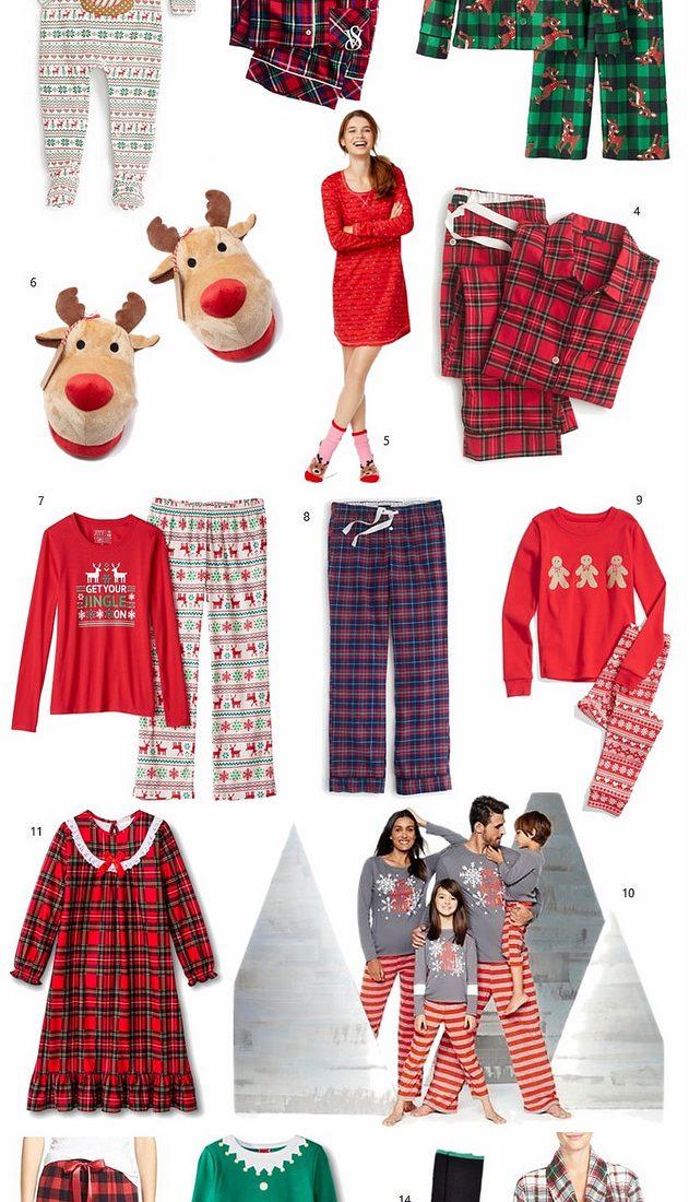 Gift Guide: Holiday Pajamas