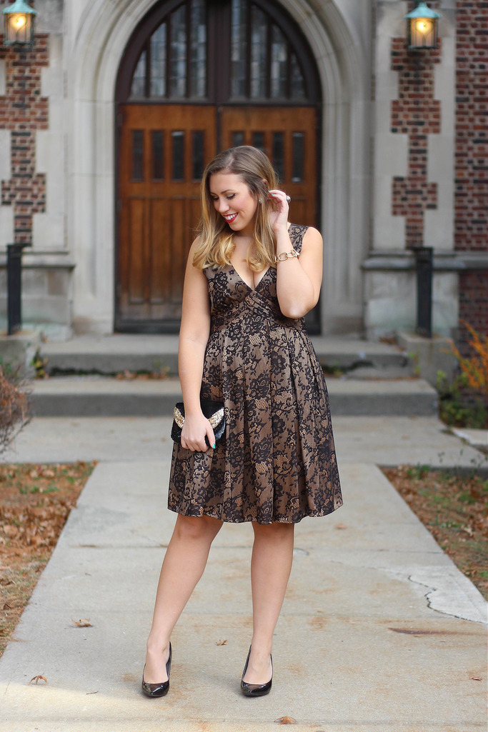 Reindeer Games & Holiday Gold Lace Outfits