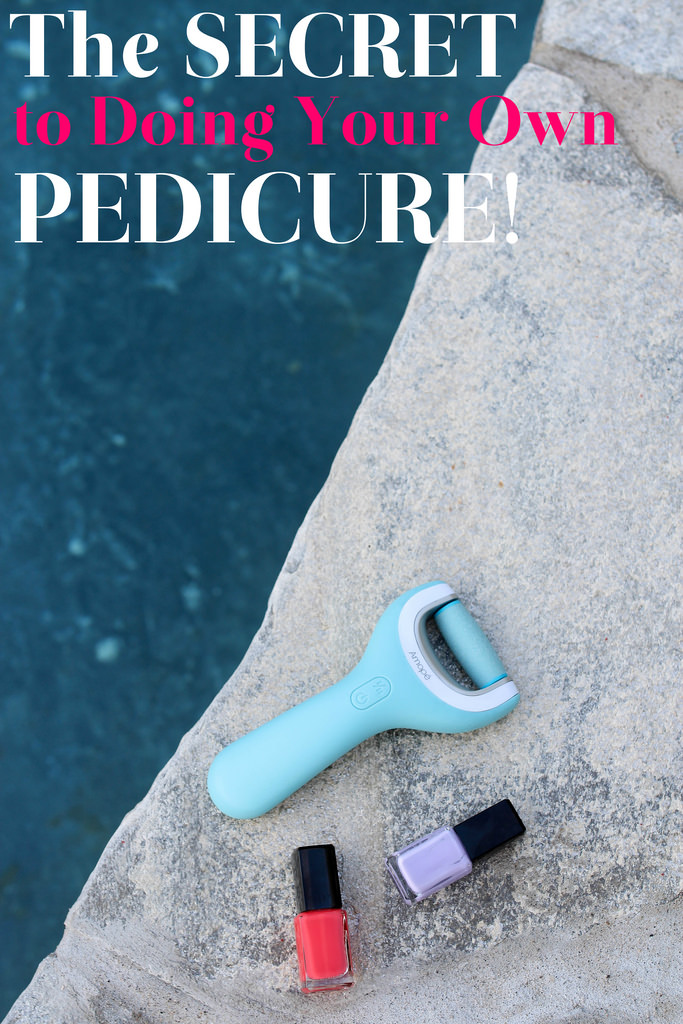 The Secret to Doing Your Own Pedicure