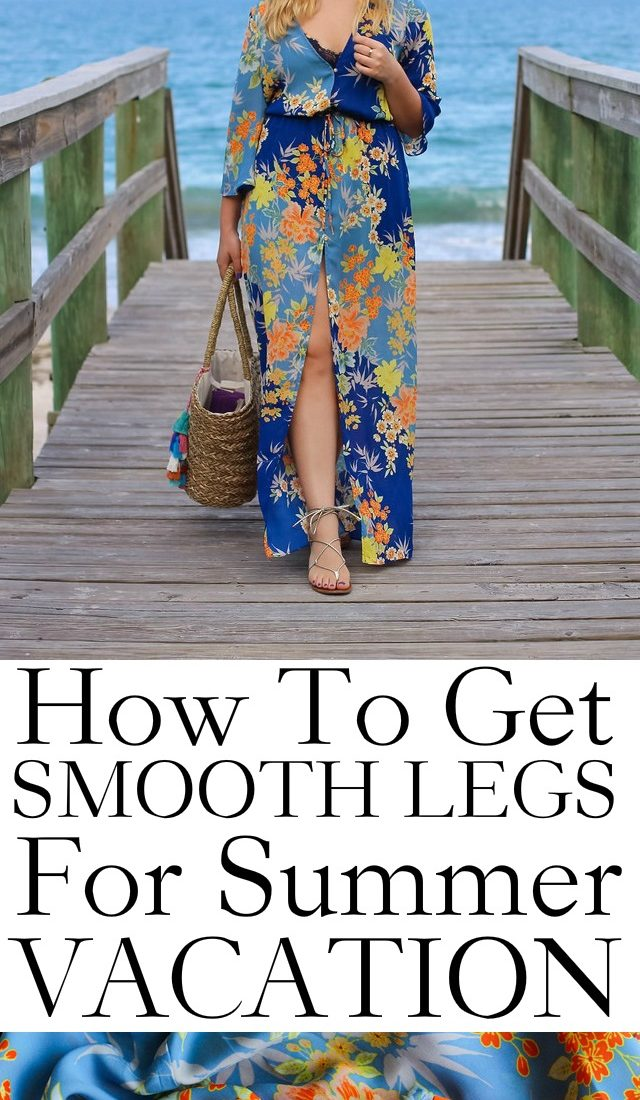How to Get Smooth Legs for Summer Vacation with Sally Hansen