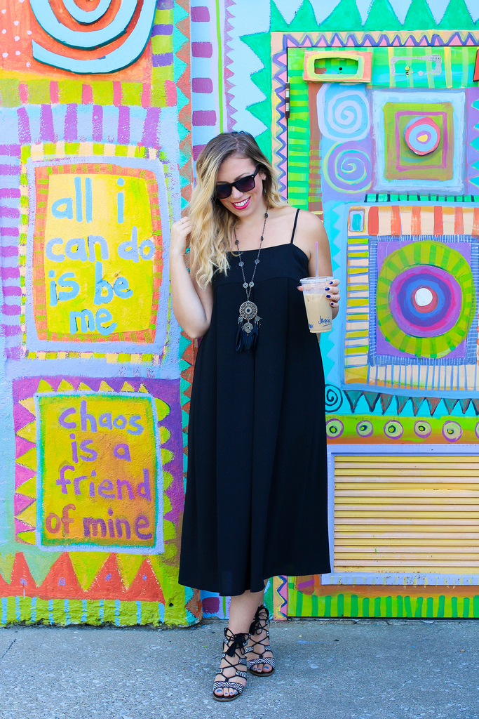 Coffee & Colorful Walls