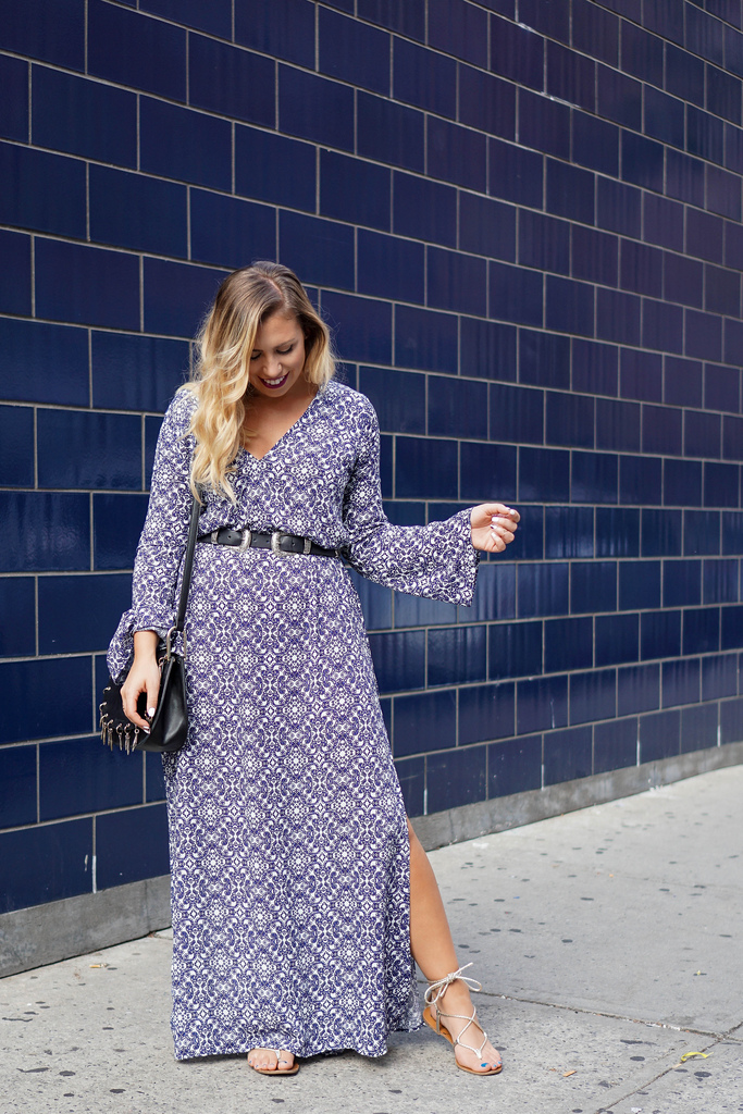The Bell Sleeve Maxi