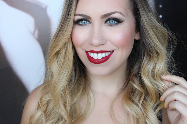 Makeup Monday: Wanderberry Red Lips