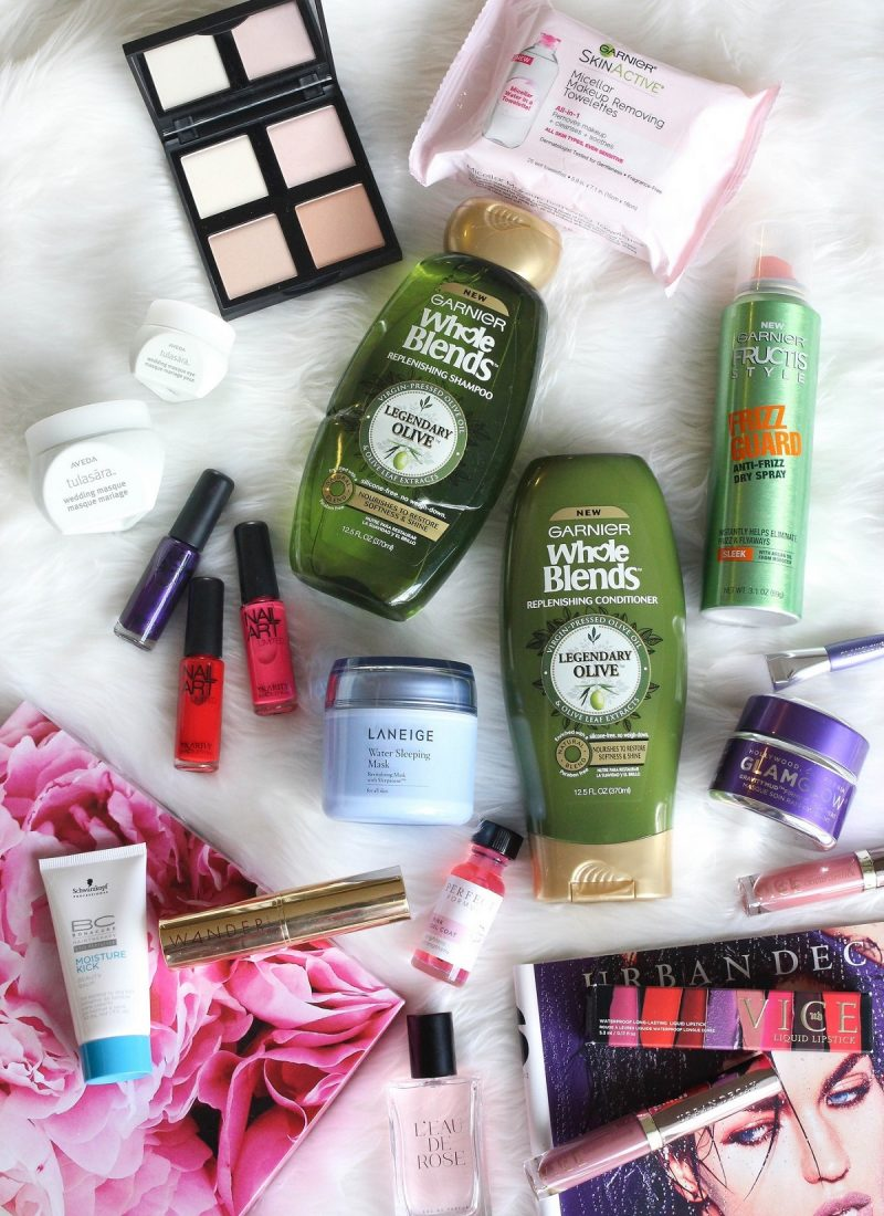 Living After Midnite February Beauty Essentials