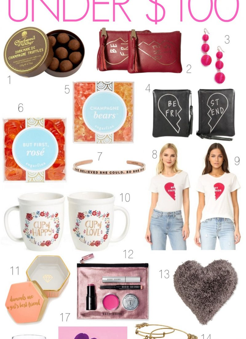Galentine's Day Gift Ideas Under $100