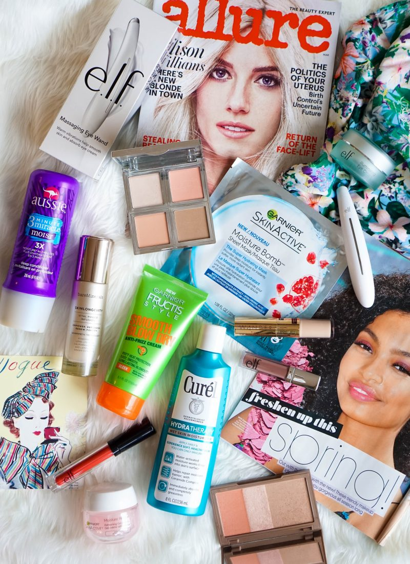 My March Beauty Essentials