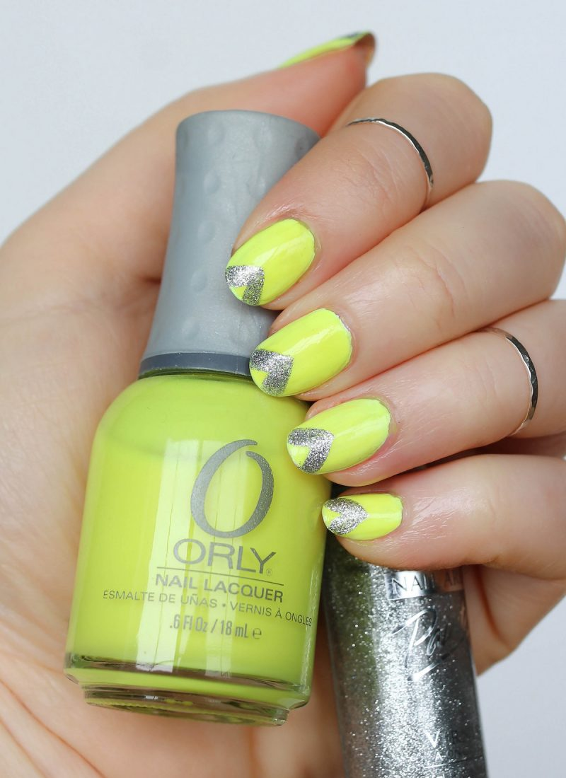 Neon Nails for Summer Orly Nail Polish in Glowstick Manicure