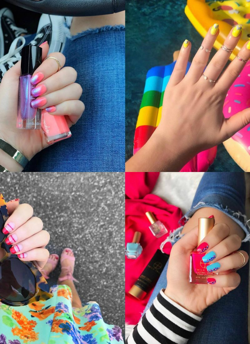Summer Nail Manicure Ideas June 2017 Round Up Living After Midnite