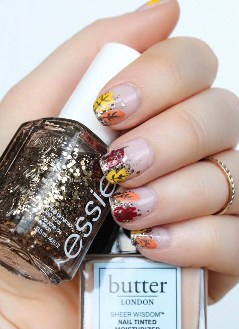 "Prepare to ""Fall"" in Love with this Fall Foliage Manicure"