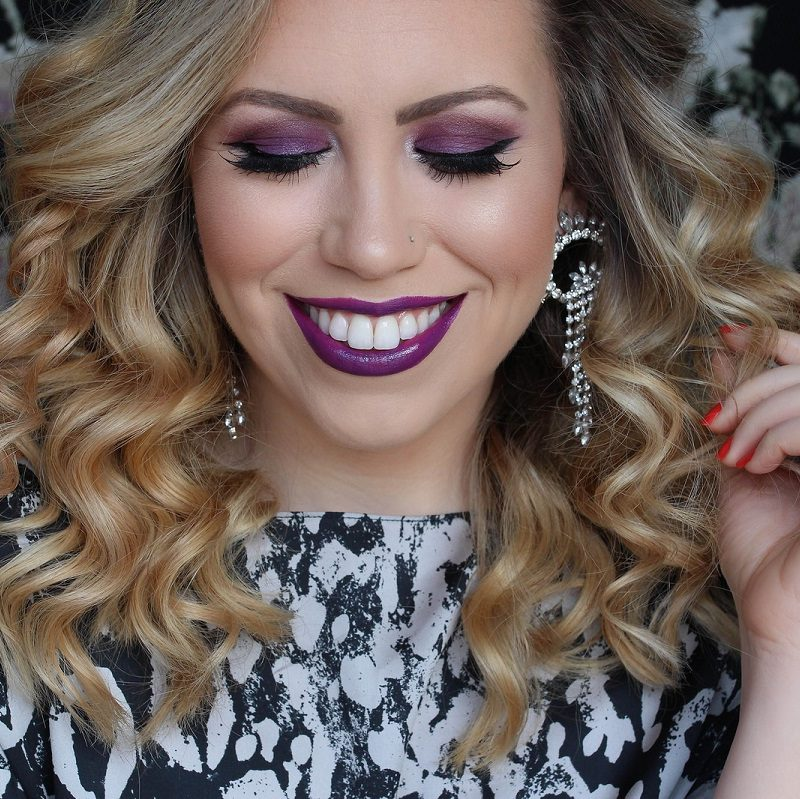You Should Give Ultra Violet Makeup a Try!