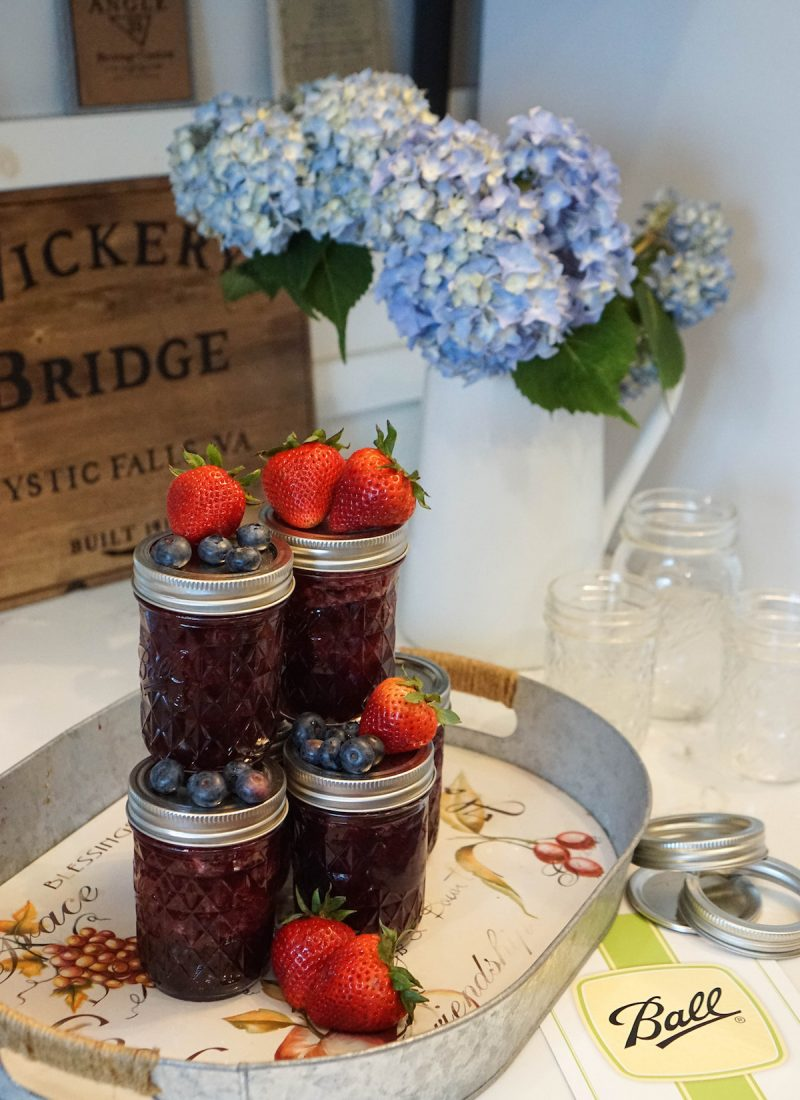 Mixed Berry Jam Recipe My New Favorite Summer Hobby: Canning with Ball Mason Jars