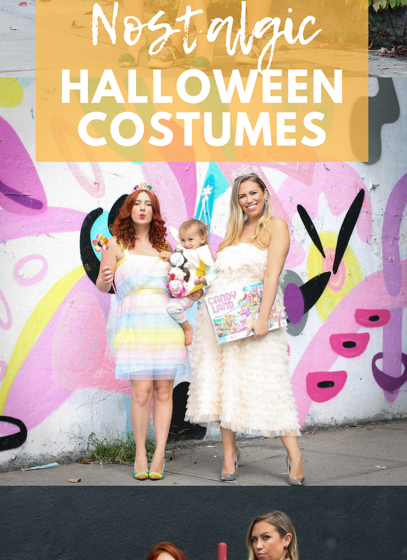 3 Nostalgic Halloween Costumes You Can Pull Together Quickly