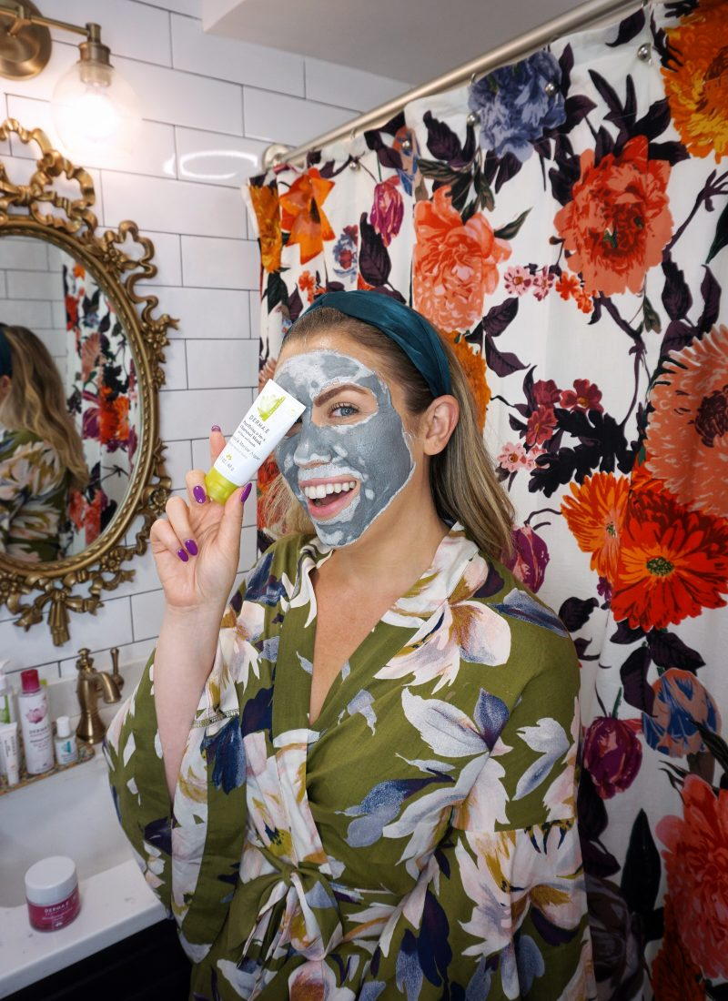 6 Clean Beauty Products That Are Helping Clear my Adult Acne | Derma E Purifying 2-in-1 Charcoal Mask