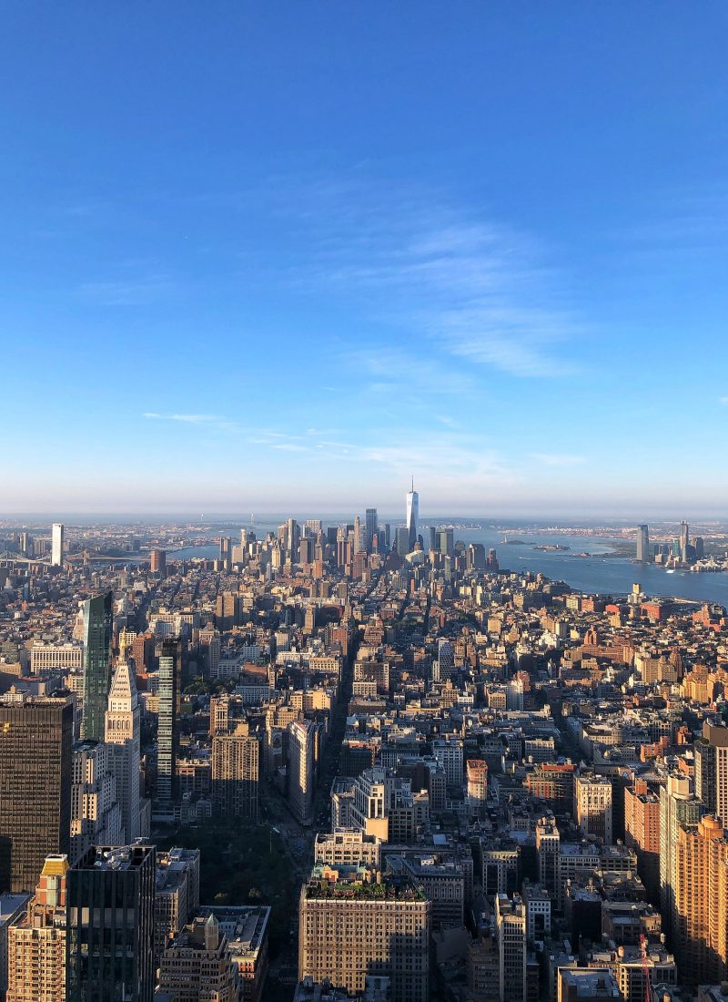 Top Empire State Building New York City Observation Deck NYC September 2019 Round Up Living After Midnite Jackie Giardina