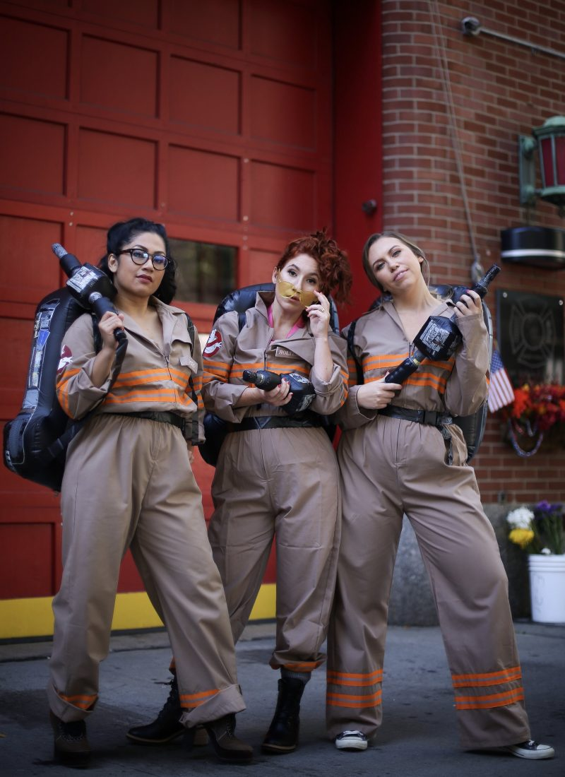 Ghostbusters Halloween Costume Girl Gang Group Costumes BFF Best Friend | October 2019