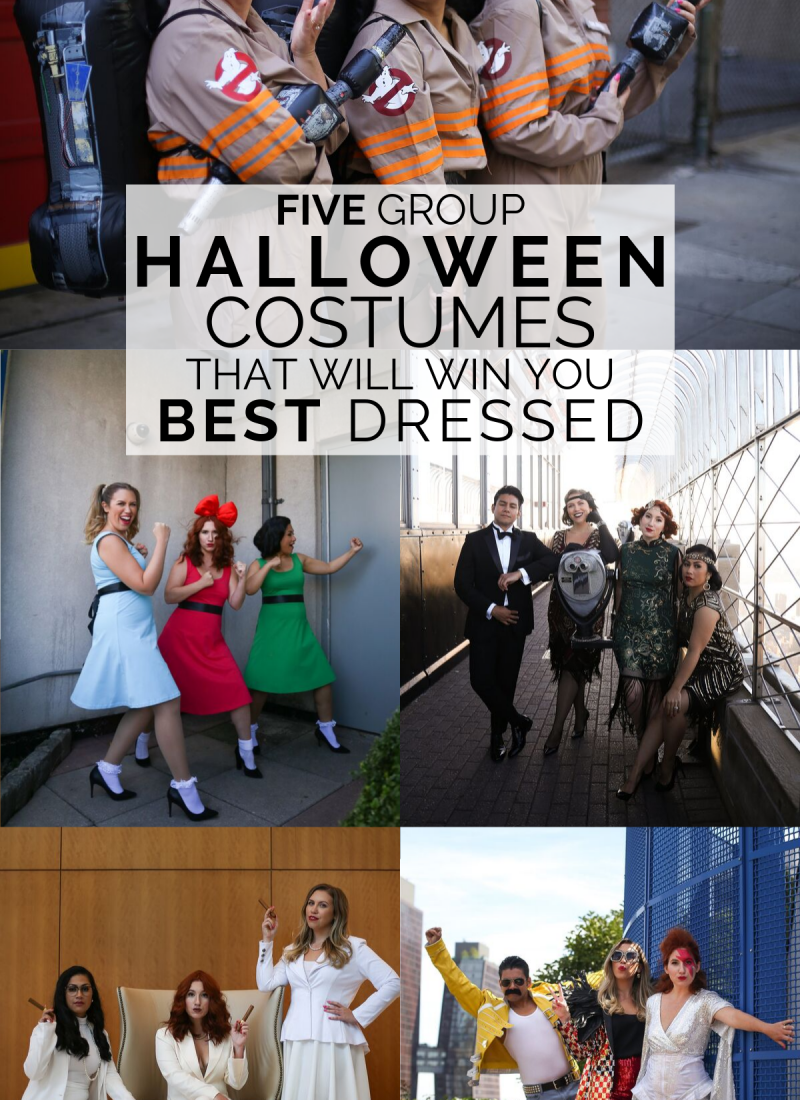 Five Group Halloween Costumes That Will Win You Best Dressed | The Best Group Halloween Costumes | Funny Group Halloween Costumes