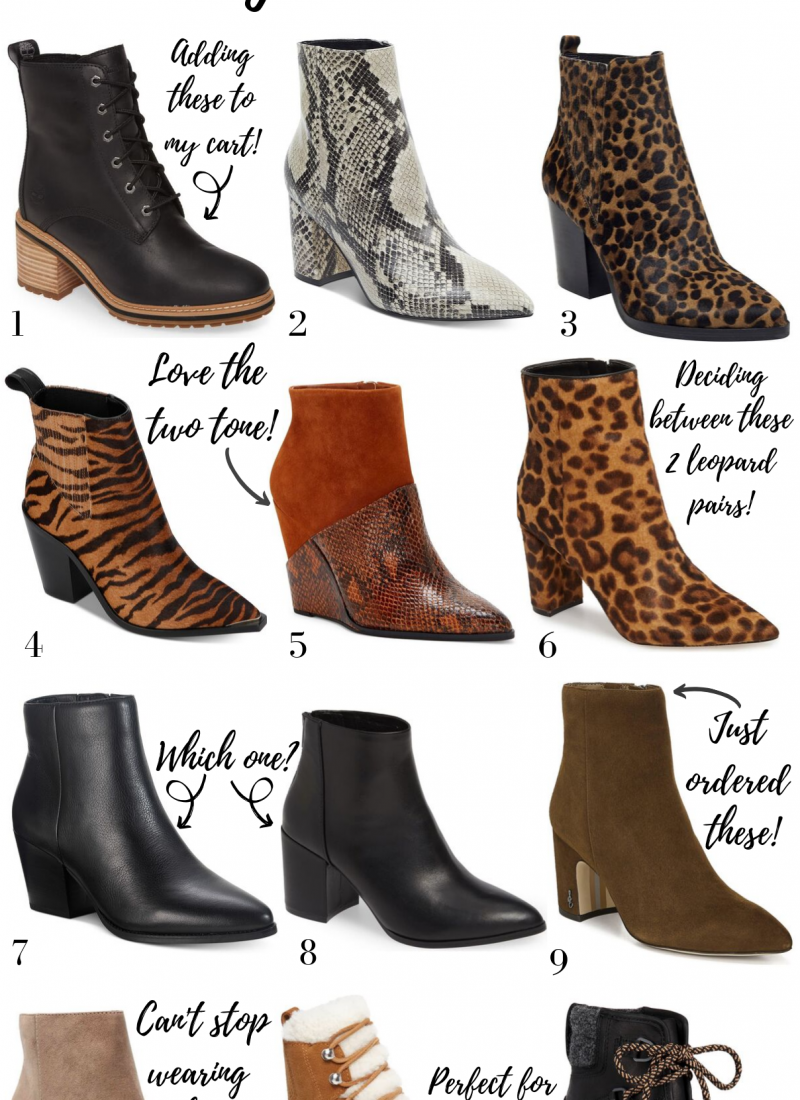 12 Pairs of Fall Booties I'm Currently Obsessed With