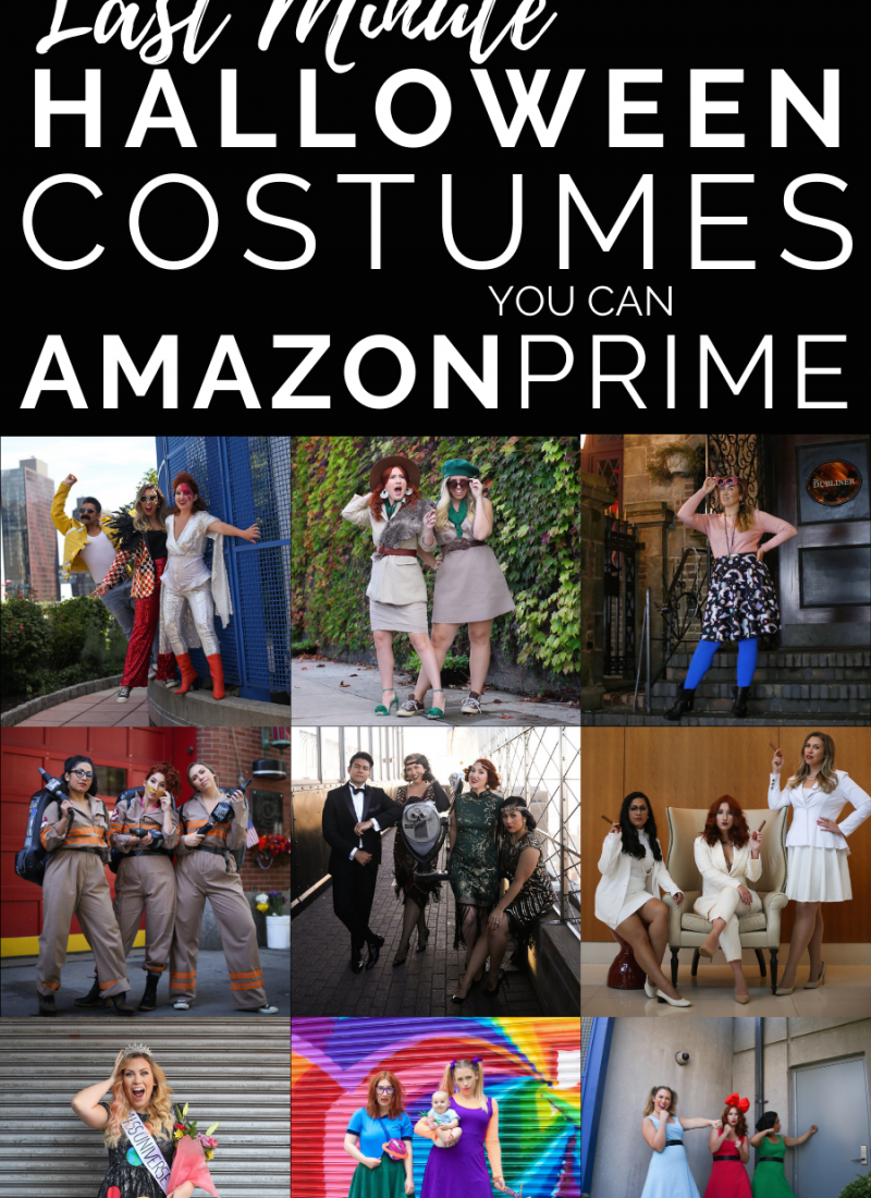 10 Last Minute Halloween Costumes You Can Amazon Prime