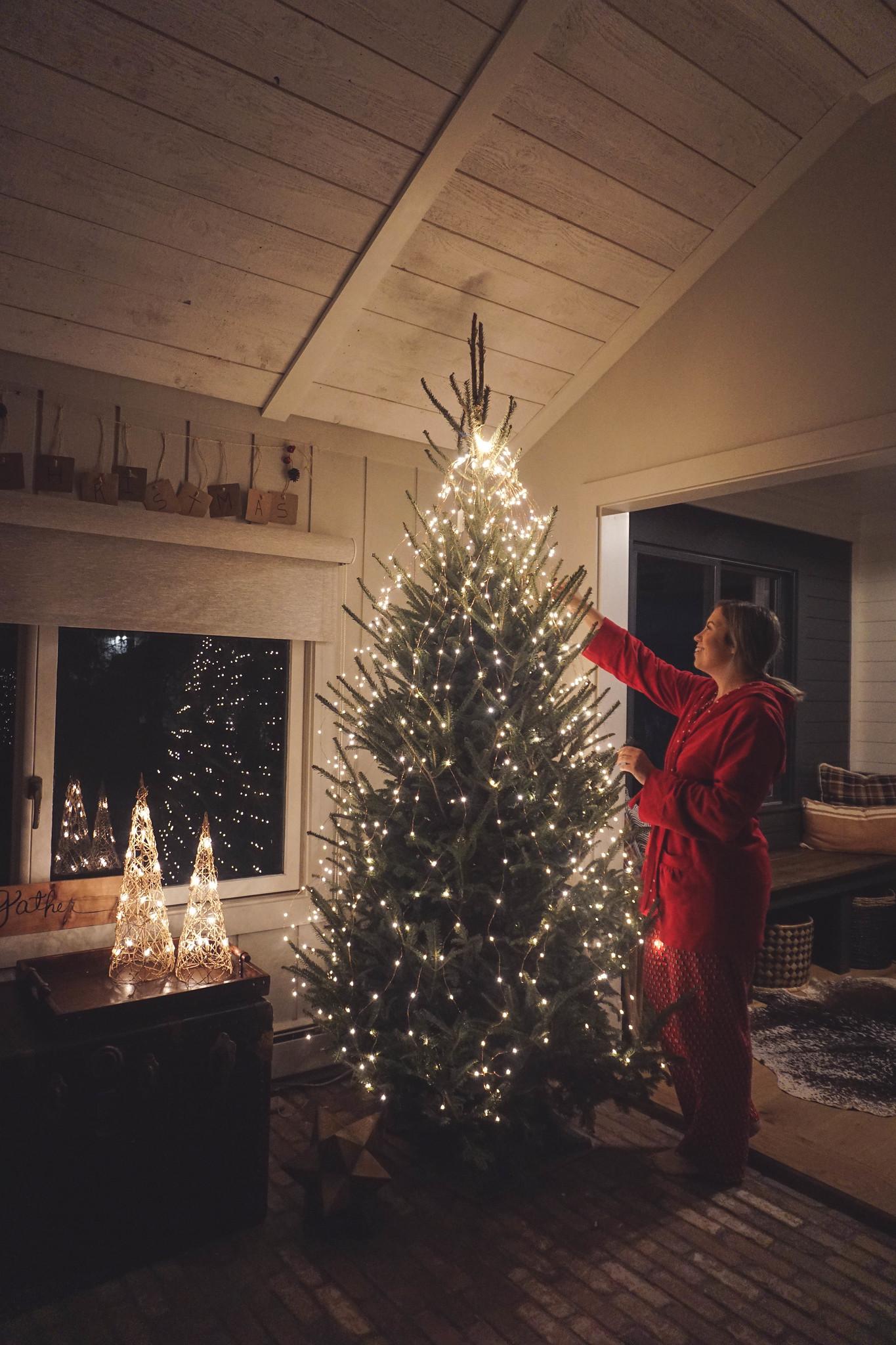 Modern Farmhouse Christmas Decor Inspiration Living After Midnite