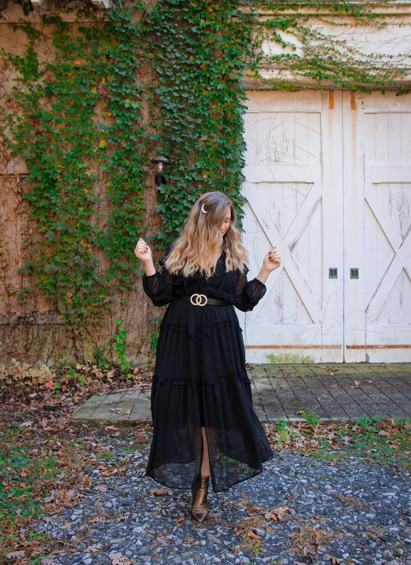 Witchy Black Dresses You'll Want to Wear All Year