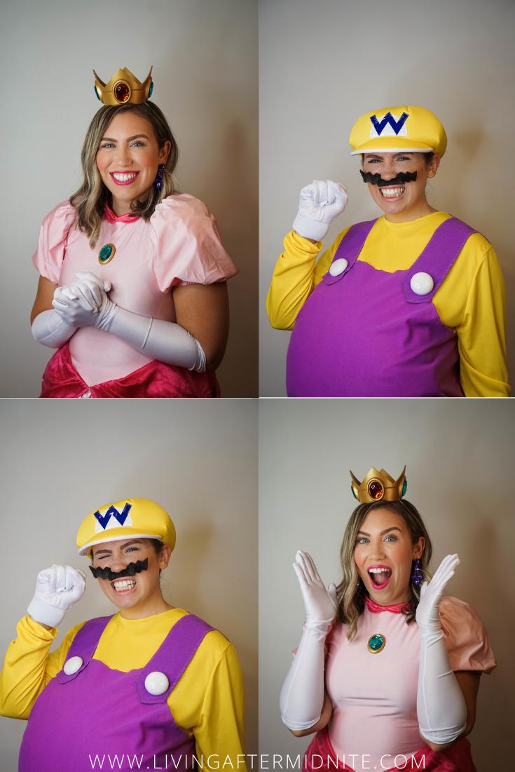 Mario Kart Costumes | Super Mario Brothers Costumes | Mario Luigi Princess Peach Cosplay | The Funniest Group Halloween Costumes for your Virtual Party | Zoom Halloween Costumes | Virtual Halloween Costume Ideas | Gamer Cosplay | Nintendo Costume