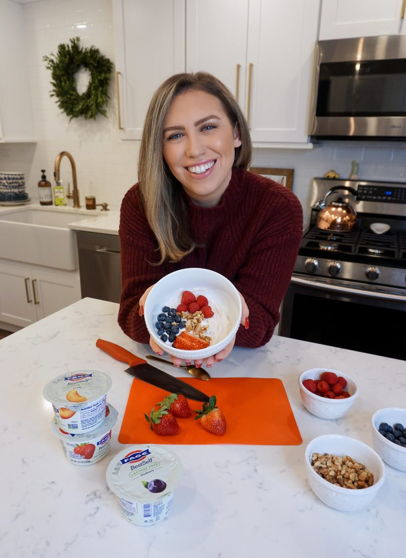 My 2021 New Year's Resolution is to listen to my body more and keep healthy options like FAGE BestSelf Lactose Free Yogurt on hand.