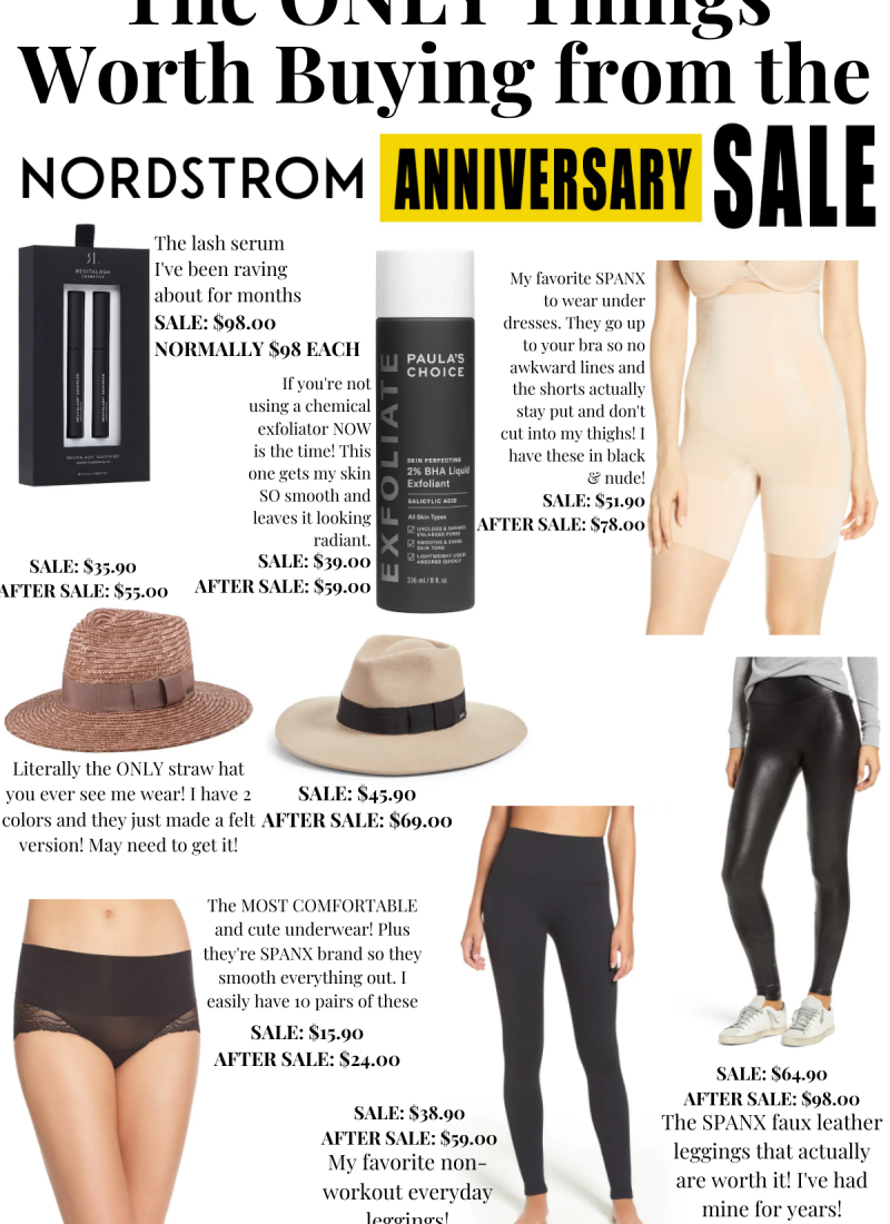 The ONLY Things Worth Buying from the Nordstrom Anniversary Sale